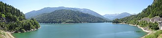 1972 New Zealand eight - In Europe, the New Zealanders were based in Lenggries and trained on the Sylvenstein Reservoir