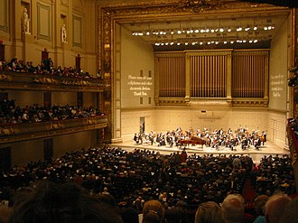 Symphony Hall, Boston - Symphony Hall interior