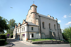 The synagogue in Lesko