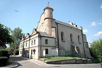 Lesko - The synagogue in Lesko