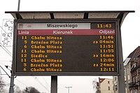 System Informacji Pasażerskiej Gdańsk duży monitor diodowy.jpg
