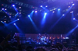 I System of a Down in concerto al Download Festival nel 2005.