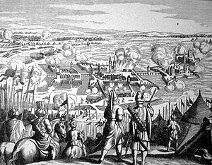Siege of Szigetvár - Siege of Szigetvár Fortress by overwhelming Ottomans