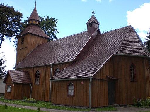 Szlachecczé Brzézno - kòscół (2)