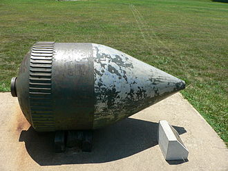 Little David - Shell at the United States Army Ordnance Museum, Maryland