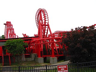 T3 (roller coaster) Roller coaster at Kentucky Kingdom