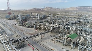 Sangachal Terminal storage, processing and transportation of oil and gas