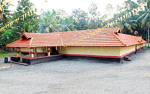 Sree Narayanapuram Thrikkayil Temple - Image: THRIKKAYIL TEMPLE RENOVATION