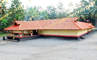 Sree Narayanapuram Thrikkayil Temple - Image: THRIKKAYIL TEMPLE RENOVATION