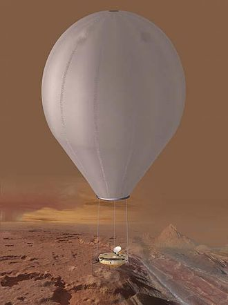 Dragonfly (spacecraft) - The previously-passed over TSSM mission proposed a Titan aircraft in the form of a Montgolfière balloon with a boat-lander gondola