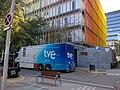TVE broadcasting unit in front of RNE building in Barcelona.jpg