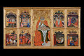 Taddeo di Bartolo - San Gimignano enthroned with eight stories of his life - Google Art Project.jpg