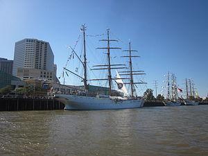 Tall Ships NOLA Ap 2012 Woldenberg Park.JPG