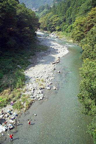 Okutama, Tokyo - Fishing is popular in Okutama.