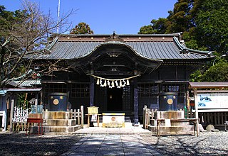 Shinto shrine in Chiba Prefecture, Japan