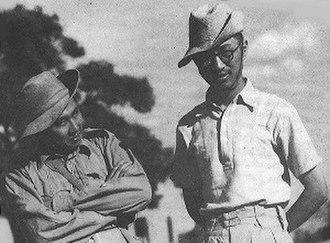 Lim Bo Seng - Tan Chong Tee and Lim (right)