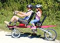 Tandem recumbent bicycle.jpg