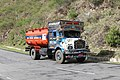 Tank truck on Phuentsholing-Thimphu highway, Bhutan.jpg