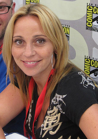 Tara Strong - Tara Strong at Comic-Con San Diego, 2009