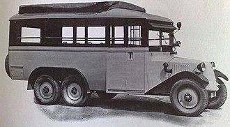 Tatra 26 - Image: Tatra T26 bus