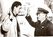 Ted Williams swearing into the Navy 1942.jpg