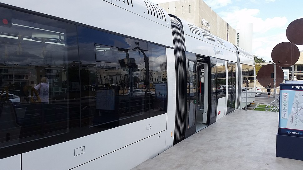 Tel Aviv Light Rail Passenger car
