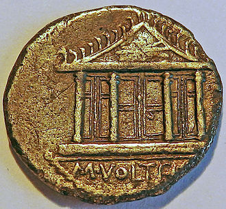 Temple of Jupiter Optimus Maximus - Image: Tempel Jupiter Optimus