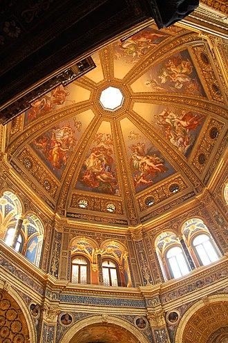 Lodi, Lombardy - Church of the Beata Vergine Incoronata (view of the interior),