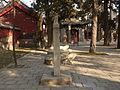 Temple of Mencius - three Qing bixi - P1050941.JPG