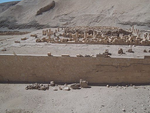 Temple of Mentuhotep at Deir el-Bahri (I) (8030674872)