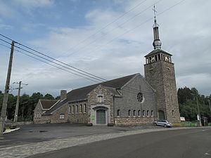 Tenneville - Image: Tenneville, église Notre Dame de Beauraing foto 3 2012 06 29 16.45