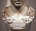 Testa di atena di tipo velletri, opera romana da orig. greco del 400 ac ca. 03 serpi.JPG
