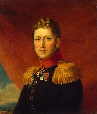 Tuyll - Diederik Jacob van Tuyll van Serooskerken, Major General in the Russian army