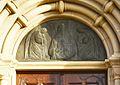 Thülen St. Dionysius. Relief über dem Portal.JPG
