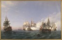 The Öland Fighting with English Men-of-War in 1704 (Albert Berg) - Nationalmuseum - 18117.tif