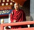 The 17th Karmapa at the Tibetan Vajra Vidya monastery in Sarnath.jpg