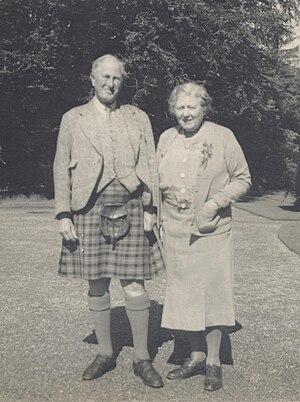 James Graham, 6th Duke of Montrose - Image: The 6th Duke & Duchess of Montrose in the 1940s