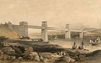 The Britannia Tubular Bridge over the Menai Straits. Robert Stephenson engineer.jpeg