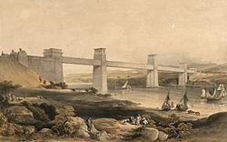 The Britannia Tubular Bridge over the Menai Straits. Robert Stephenson engineer.jpeg