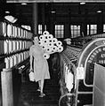 The British Cotton Industry- Everyday Life at a British Cotton Mill, Lancashire, England, UK, 1945 D26003.jpg