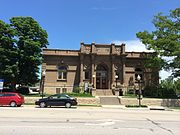 The Carnegie Building in Lawrence Kansas