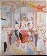 1942 oil painting by Florine Stettheimer