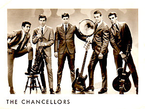 George Marino - The Chancellors (l-r) Bijan Yakuboff, Don Grassini, Ronnie Salvani, Nick DiMinno, George Marino