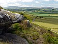 The Cheviot Hills from Kettley Crag Rock Shelter - geograph.org.uk - 1354358.jpg