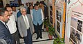 The Chief Election Commissioner, Shri O.P. Rawat visiting an exhibition, during the poll-preparedness review meeting, in Jaipur (Rajasthan) on September 17, 2018. The Election Commissioner, Shri Ashok Lavasa is also seen (1).JPG