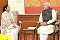 The Chief Minister of West Bengal, Ms. Mamata Banerjee calling on the Prime Minister, Shri Narendra Modi, in New Delhi on December 08, 2015 (1).jpg
