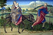 La Fête de l'Ane dans ANE 220px-The_Flight_into_Egypt-1500_Vittore_Carpaccio