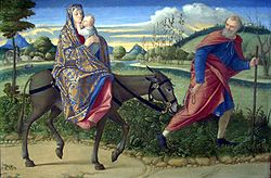 Vittore Carpaccio: The Flight into Egypt