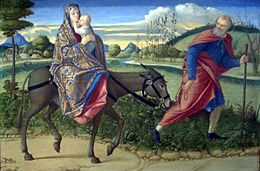 The Flight into Egypt-1500 Vittore Carpaccio.jpg