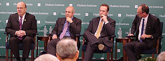 Bill Browder - Browder and others at a 2015 talk hosted by the Hudson Institute